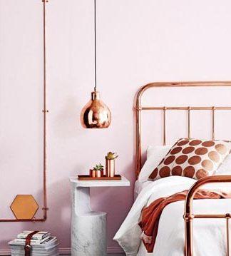 Conheça o Rosé Gold, a cor do momento para a decoração