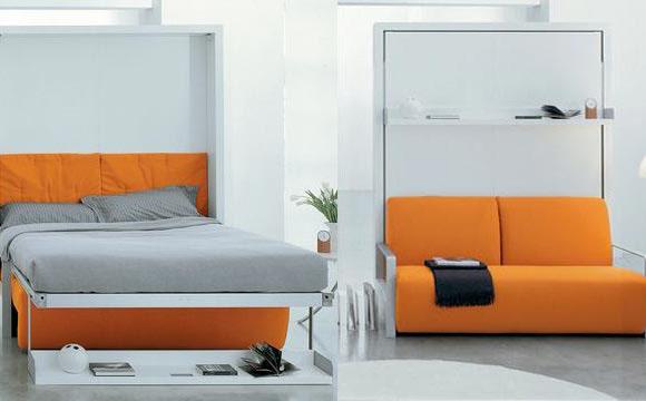 Aqui uma outra opção de cama que vira sofá (Foto: BR.Pinterest.com.br)
