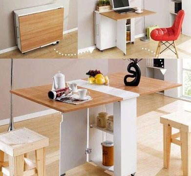 O criado-mudo pode ter três funções (Foto: BR.Pinterest.com.br)