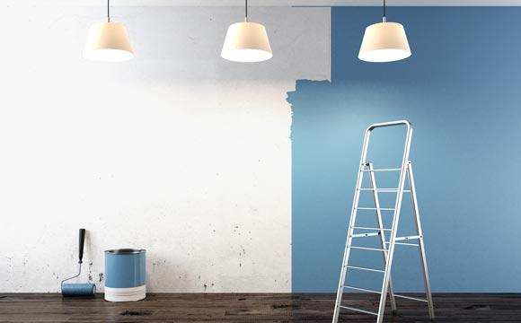 Outra dica fundamental para ter um resultado bom é fazer a pintura em horários com bastante luz natural (Foto: Shutterstock)