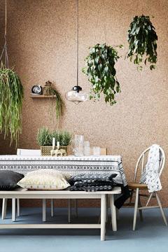 A cortiça dá um toque rústico ao ambiente (Foto: br.pinterest.com.br)