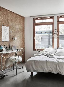 Uma parede toda de cortiça é uma ótima opção para poder organizar as tarefas (Foto: br.pinterest.com.br)