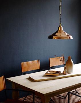 A parede da sala de jantar pode ficar ainda mais personalizada (Foto: Pinterest)
