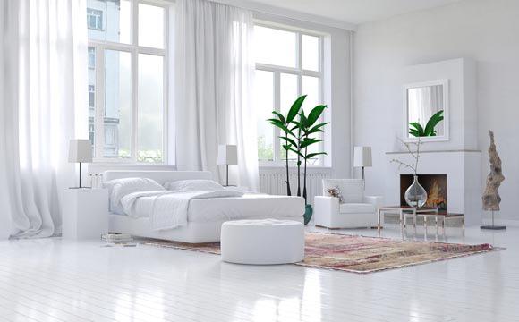 Já os tapetes em cores lisas costumam ser coringas na decoração (Foto: Shutterstock)