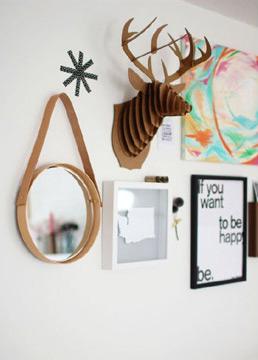 Ele também é uma espécie de coringa na decoração, já que pode ser utilizado em praticamente todos os ambientes (Foto: Reprodução/Pinterest)