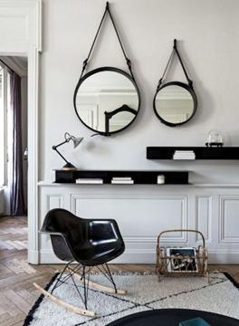 O espelho Adnet não é difícil de ser encontrado (Foto: Reprodução/Pinterest)