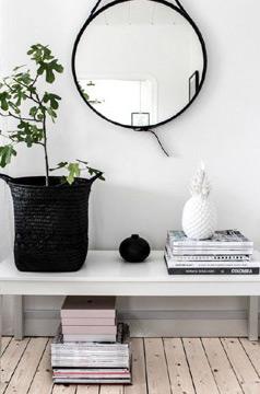 Na decoração escandinava é item essencial (Foto: Reprodução/Pinterest)