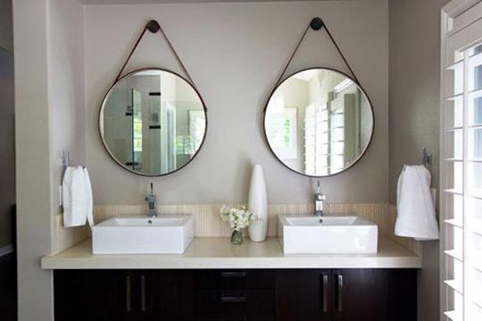 No banheiro ele deixa o ambiente mais moderno e clean (Foto: Reprodução/Pinterest)