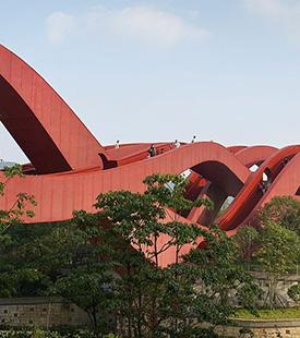 "Ponte ""Nó da Sorte"" na China"