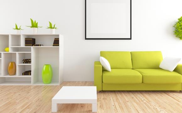 Lembre-se de não arrastar móveis e ter atenção aos produtos de limpeza recomendados (Foto: Shutterstock)