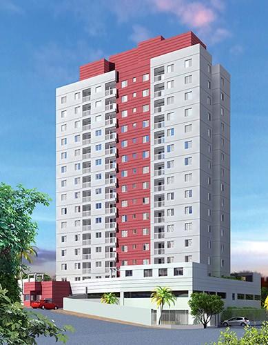 Perspectiva artística da fachada - Conquista Planalto