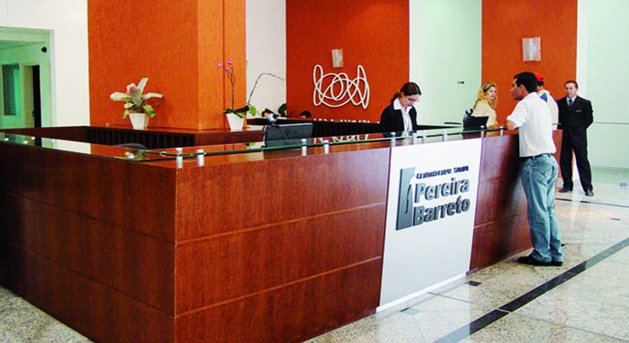 Recepção CEPB - Centro Empresarial Pereira Barreto