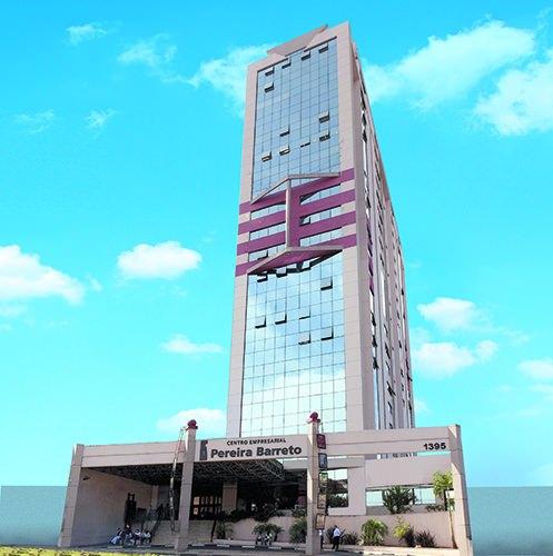 Fachada CEPB - Centro Empresarial Pereira Barreto