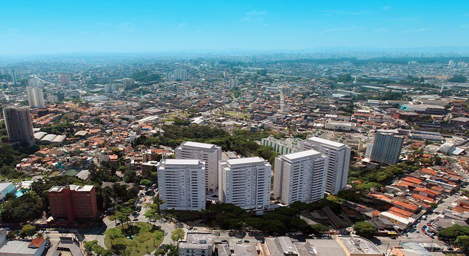 Perspectiva artística vista aérea - Paseo Diadema