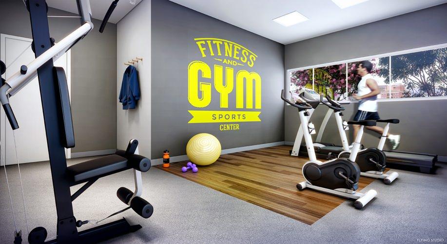 Perspectiva artística do fitness - Kennedy Park Studios