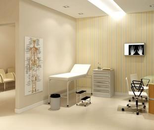 Perspectiva artística consultório médico (sugestão) - Centro Empresarial Pereira Barreto