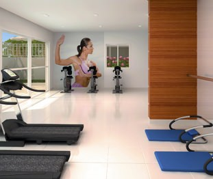 Perspectiva artística do fitness -