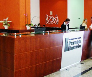 Recepção CEPB - Cidade Viva Offices